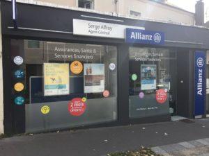 Boutique de l'agence Allianz de Vertou